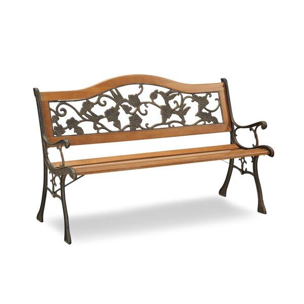 Hillary Outdoor Garden Bench by Fleur De Lis Living