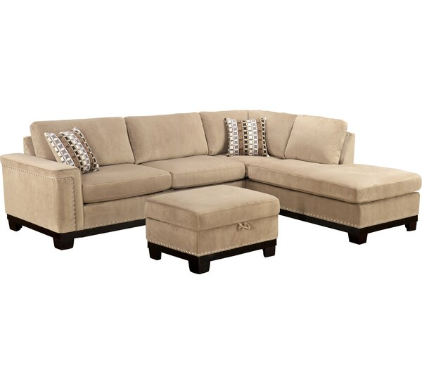 Opulence Reversible Sectional by Wildon Home ®