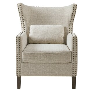 Price comparison DeSoto Wingback Chair ByDarby Home Co