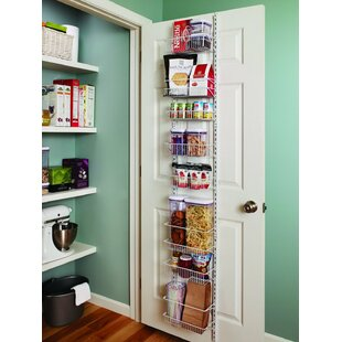 8 Tier Adjustable Cabinet Door Organizer