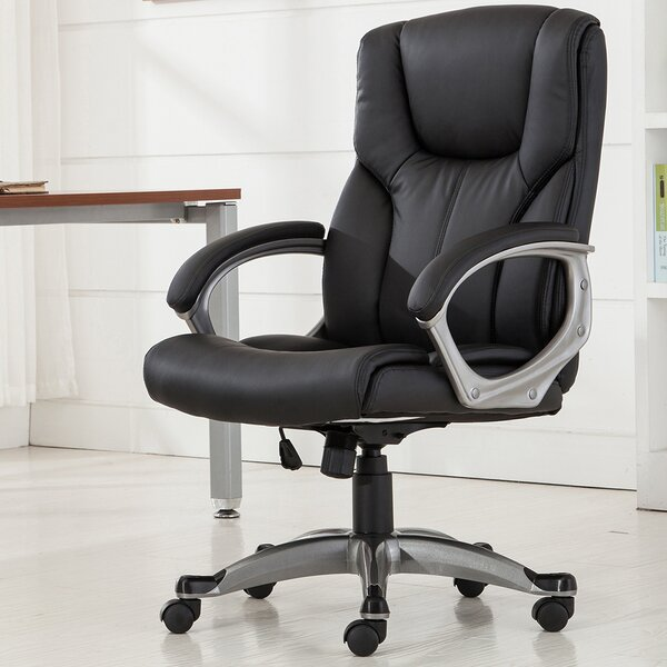 Ergonomic Mid-Back Desk Chair by Belleze
