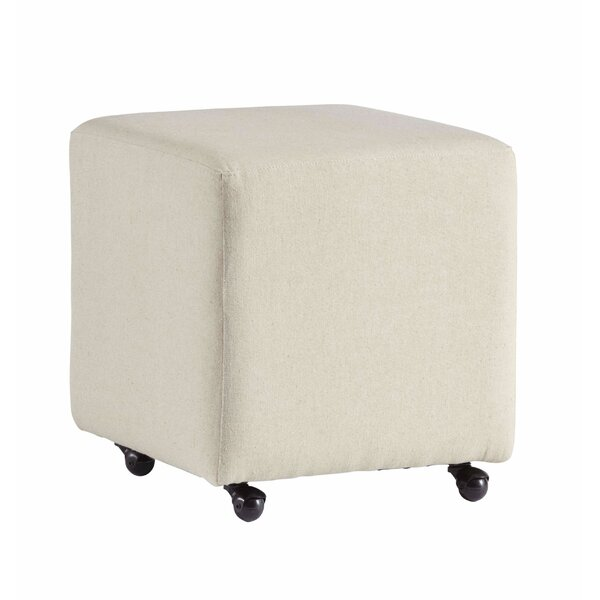 Jed Castered Accent Stool by Ebern Designs