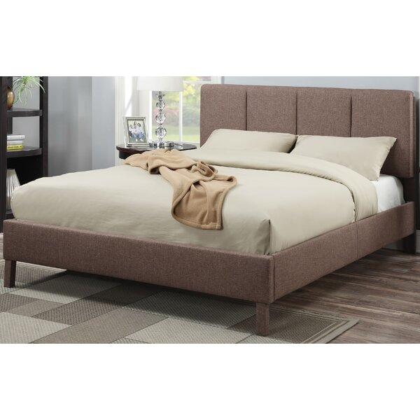 Kurz Upholstered Standard Bed by Latitude Run