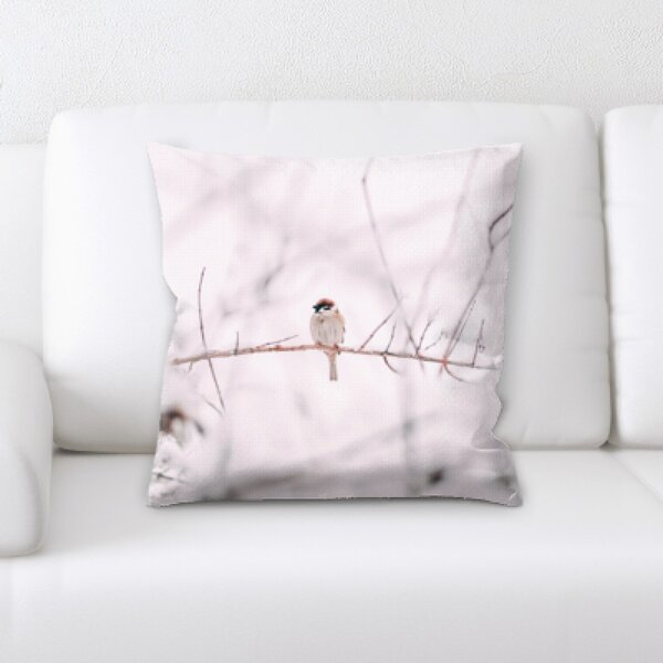Winter Feeling (48) Throw Pillow by Rug Tycoon