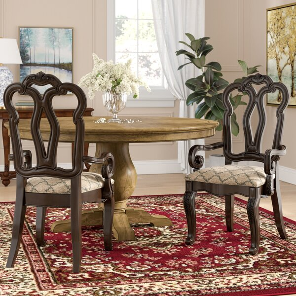 Weinberger Arm Chair (Set of 2) by Astoria Grand
