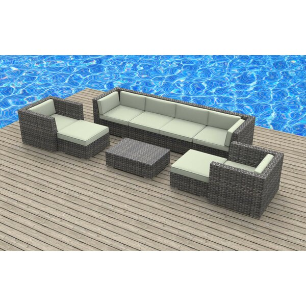 Karla 9 Piece Sectional Set with Cushions by Brayden Studio
