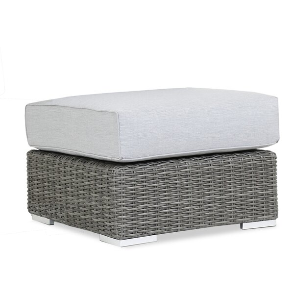 Emerald II Outdoor Ottoman with Sunbrella Cushion by Sunset West