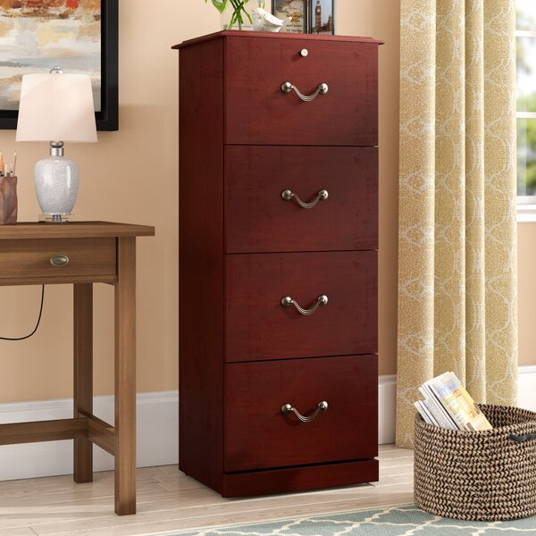 Dones 4 Drawer Vertical File by Charlton Home