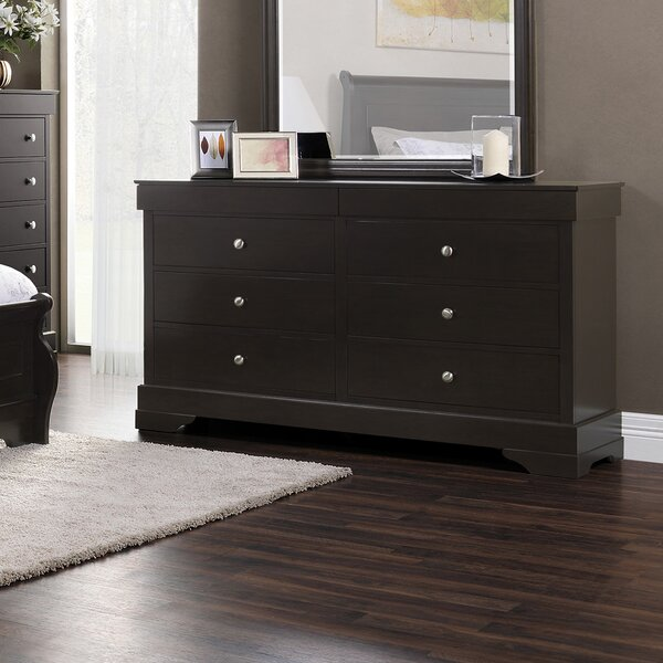 Gizmo 6 Drawer Double Dresser by Winston Porter