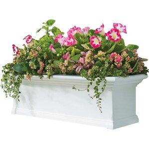 janeen plastic window box planter - Window Box Planters