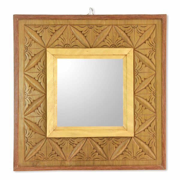 Matahari Panel Accent Mirror by Novica