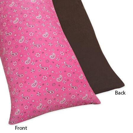 Cowgirl Body Pillowcase by Sweet Jojo Designs