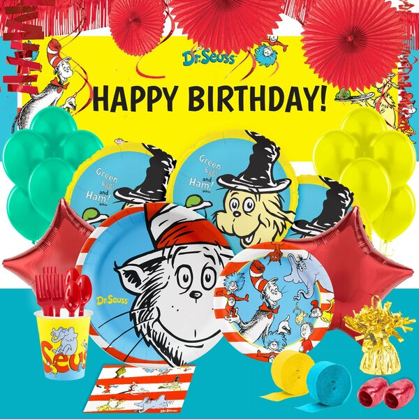156 Piece Dr. Seuss Classics Ultimate Party Kit by