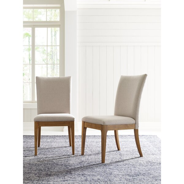 Hygge Upholstered Side Chair In Cashmere (Set Of 2) By Rachael Ray Home