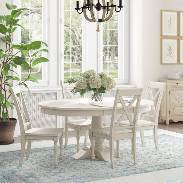 Eminence 5 Piece Extendable Dining Set by Ophelia & Co. Ophelia & Co.
