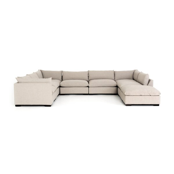 Home & Garden Southwold 7-Piece Sectional With Ottoman