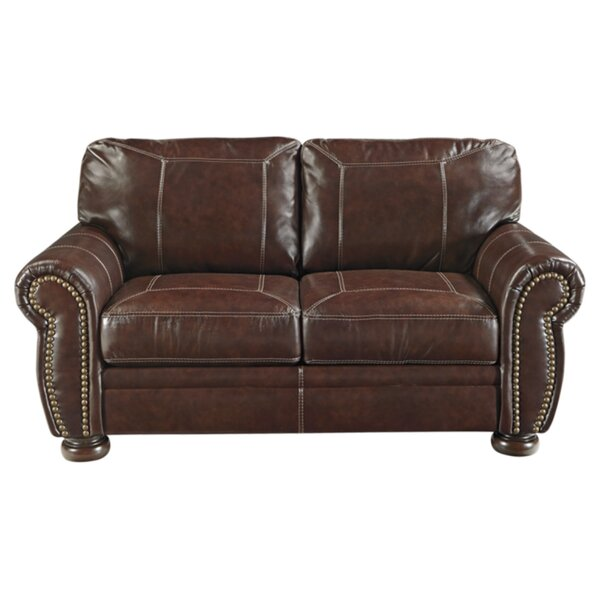 Ryan Espresso Leather Sofa by Trent Austin Design