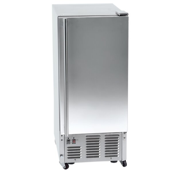 15 W 44 lb. Daily Production Built-In Ice Maker by Orien