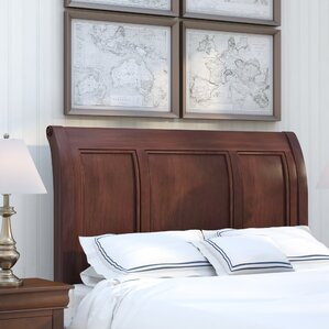 Curran Sleigh Headboard by Three Posts