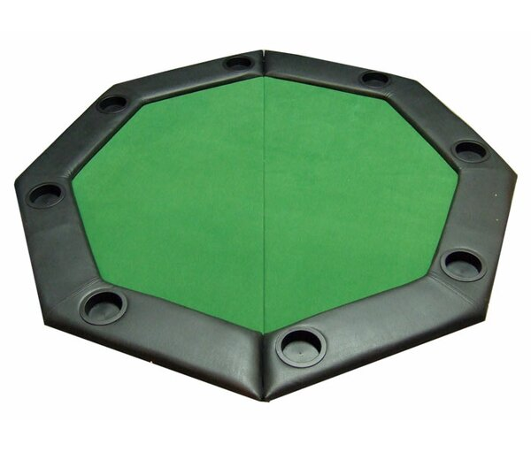 Padded Octagon Folding Poker Table Cover by JP Commerce