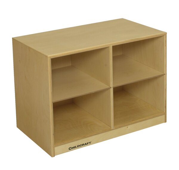 4 Compartment Cubby by Childcraft