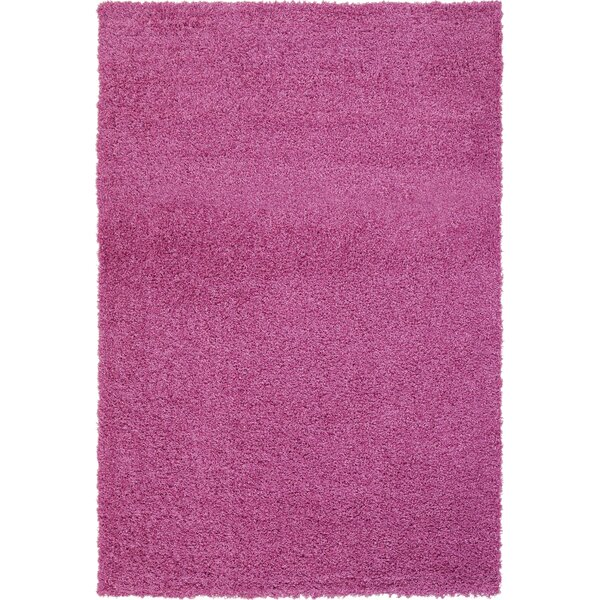 Justine Pink Area Rug by Latitude Run