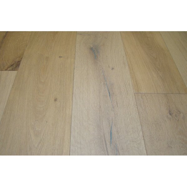 Baltic 7-1/2 Engineered Oak Hardwood Flooring in Sedona Silver by Myfuncorp
