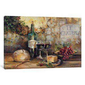 Le Chateau' Painting Print on Canvas by East Urban Home