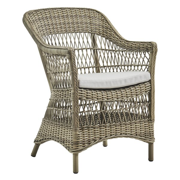 Charlot Patio Dining Chair with Cushion by Sika Design