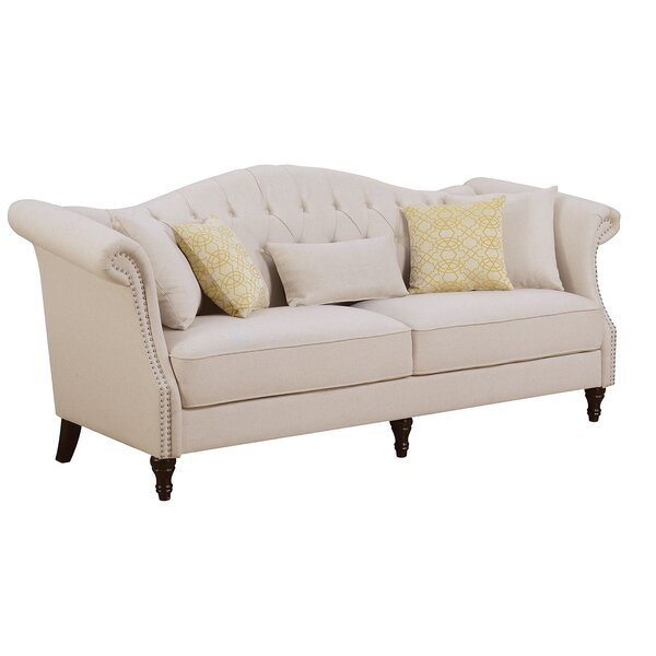 Modern Brand Zimmer Sofa by One Allium Way by One Allium Way