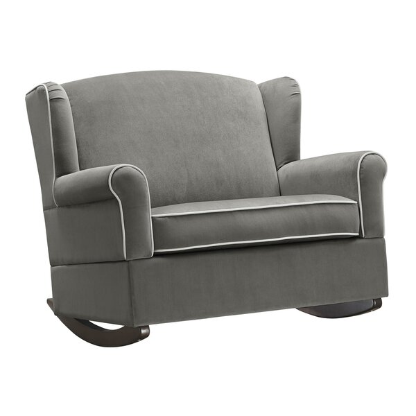 Bellaire Wingback Chair & Half Rocker by Greyleigh