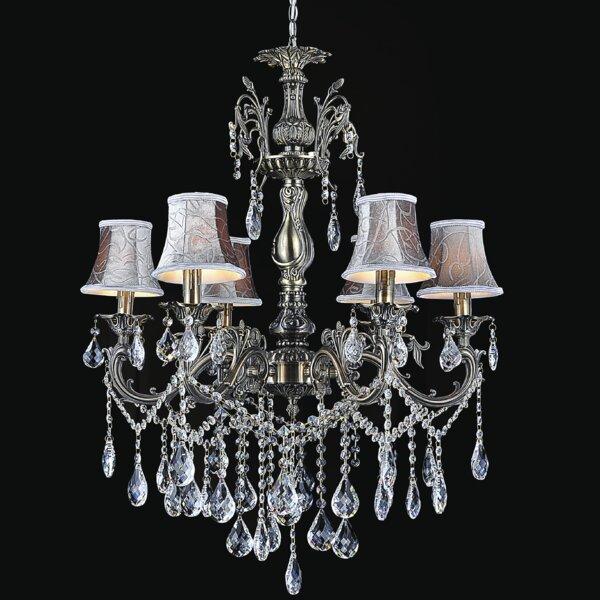 Velez 6-Light Shaded Chandelier by Astoria Grand