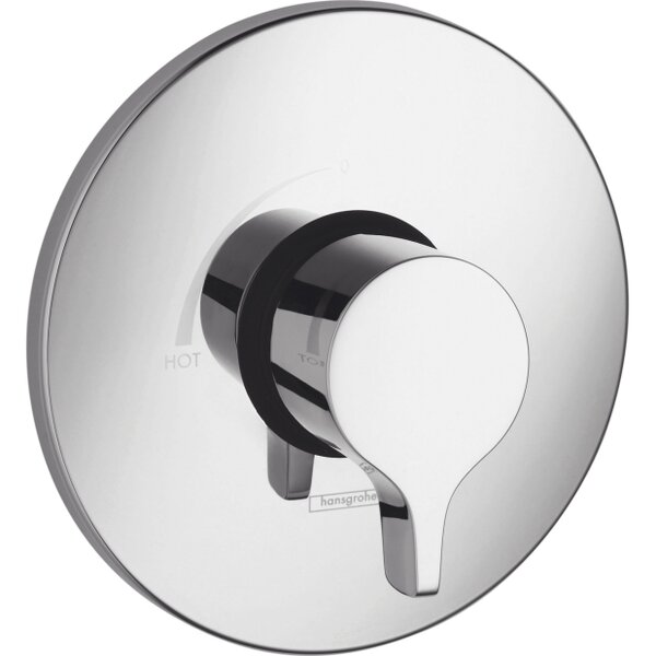 S/E Pressure Balance Faucet Trim with Lever Handle by Hansgrohe