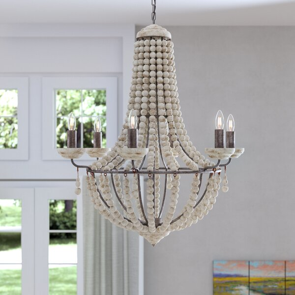 Tomasini 6-Light Candle Style Empire Chandelier by Ophelia & Co. Ophelia & Co.