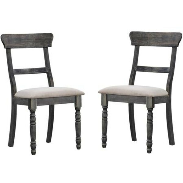 Simone Solid Wood Dining Chair (Set of 2) by Ophelia & Co.