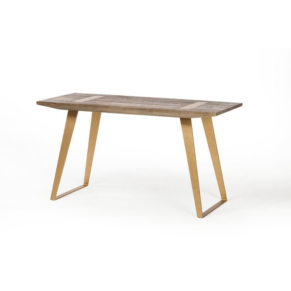 Braemar Reclaimed Writing Desk by Foundry Select