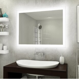 Affordable Bonaparte Backlit LED Bathroom/Vanity Mirror ByOrren Ellis