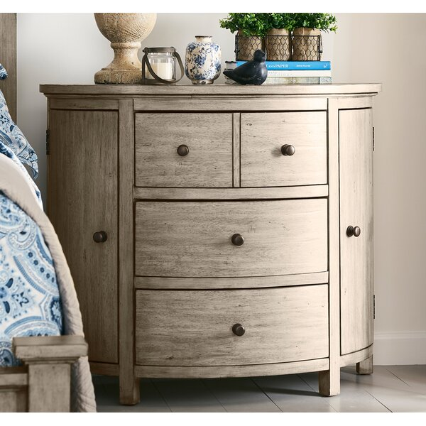 Arria 4 Drawer Nightstand by Gracie Oaks