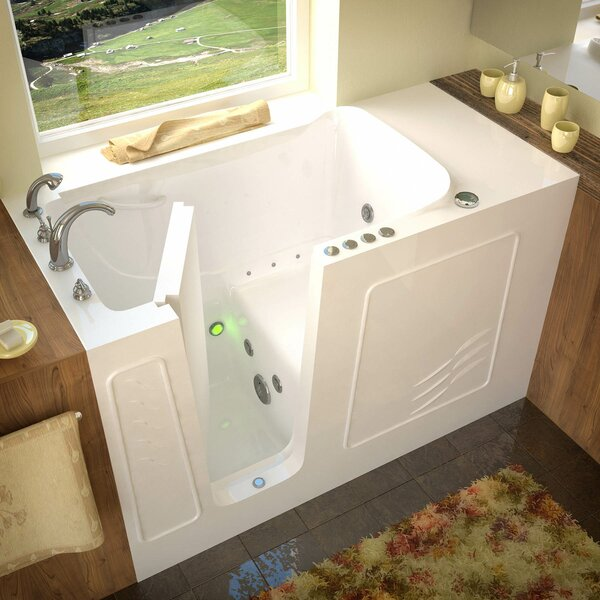 Tucson 60 x 30 Whirlpool & Air Jetted Bathtub by Therapeutic Tubs