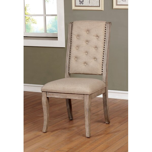 Annora Upholstered Dining Chair (Set of 2) by One Allium Way One Allium Way