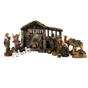 Nativity scenes sets youll love wayfair 21 piece nativity set solutioingenieria Gallery