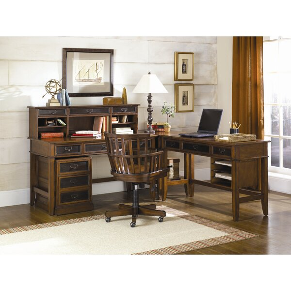 Calderwood 6-Piece Desk Office Suite by Gracie Oaks