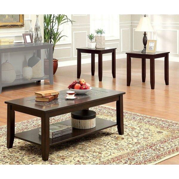 Fenwick 3 Piece Coffee Table Set By Canora Grey