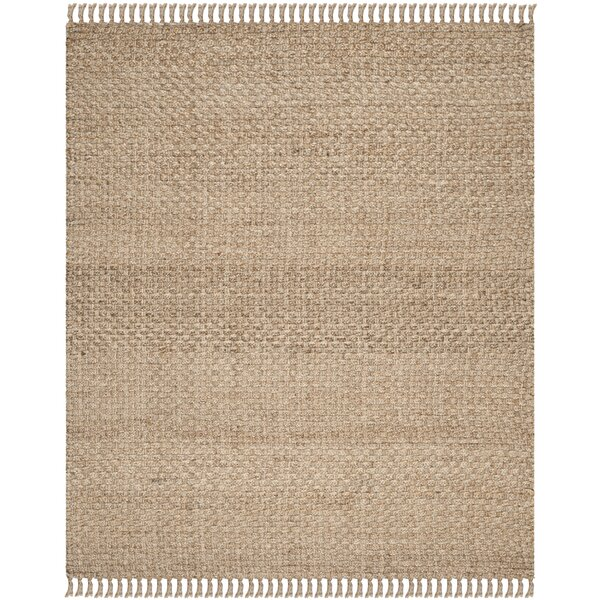Liza Hand - Woven Natural Area Rug by Mistana