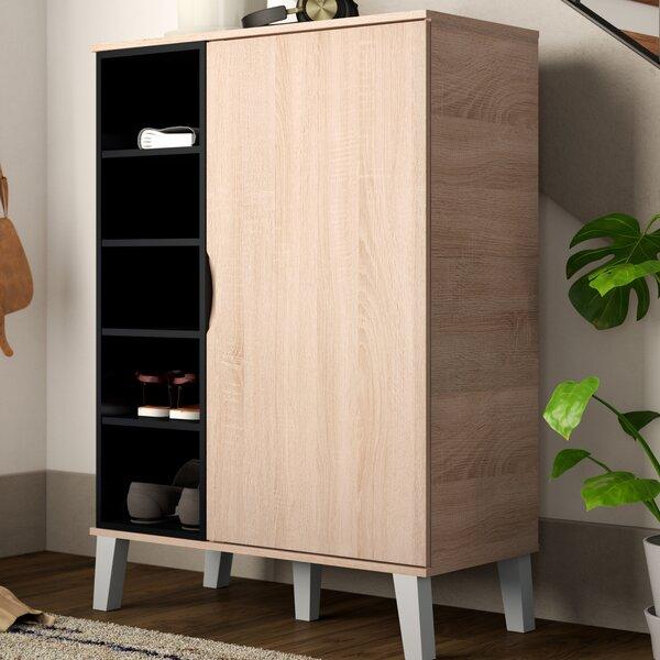 Jamar 24 Pair Shoe Storage Cabinet by Corrigan Studio