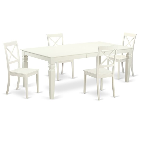 Beever 5 Piece Dining Set by Darby Home Co
