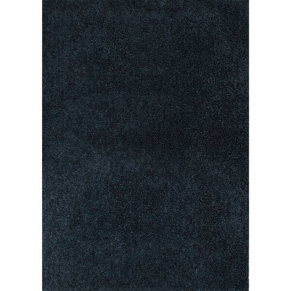 Brys Polyester Blue Shag Area Rug by Orren Ellis