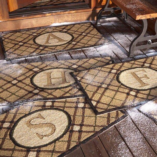 Monogrammed Doormat by Plow & Hearth