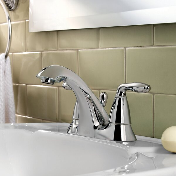 Serrano Centerset Bathroom Faucet with Drain Assembly