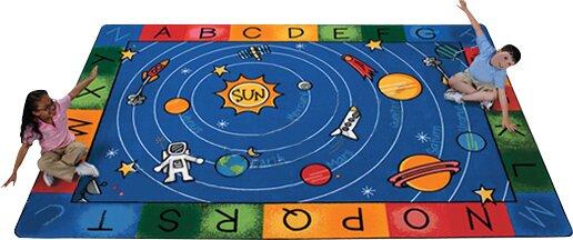 Emerado Milky Play Literacy Area Rug by Zoomie Kids